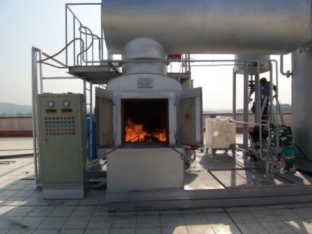 立式型医疗垃圾焚烧炉