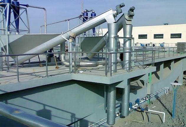 螺旋式砂水分离器